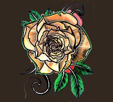 yellow tattoo rose T-Shirt
