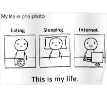 My Life in One Photo Poster