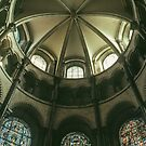 Apse Ceiling Canterbury Cathedral 198402140038  by Fred Mitchell