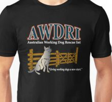 AWDRI Tee. Dark Colours. Unisex T-Shirt
