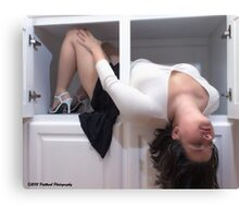 Sensuality in the Cabinet  Canvas Print