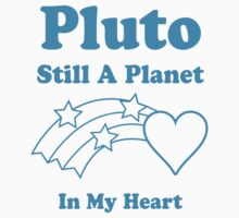 Pluto Still A Planet In My Heart One Piece - Long Sleeve