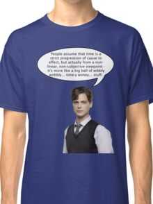spencer reid quotes the doctor Classic T-Shirt