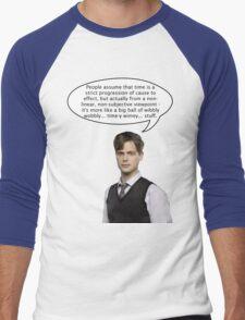 spencer reid quotes the doctor Men's Baseball ¾ T-Shirt