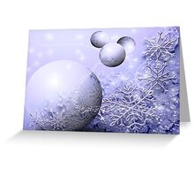 Winter Snowball Greeting Card