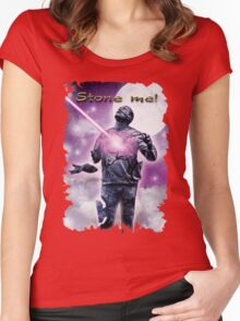 I will be judged by Him......... Women's Fitted Scoop T-Shirt