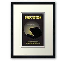 Pulp Fiction Minimalist Movie Poster Framed Print