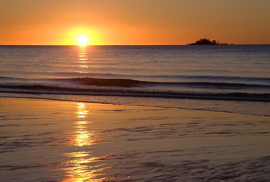Sunrise, South Mission Beach, Queensland by Adrian Paul
