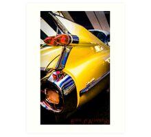 Cadillac 59  Art Print