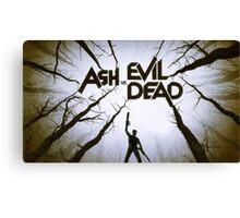 ash vs evil dead Canvas Print
