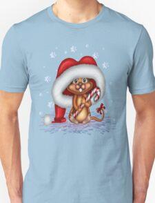 Cheeky Christmas Mouse T-Shirt