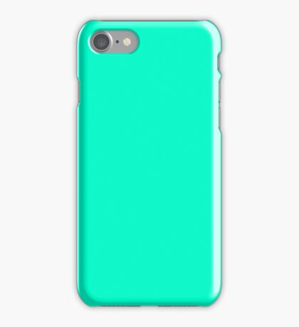 Cyan Case iPhone Case/Skin