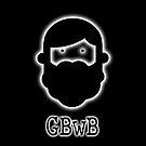 Beardy Boy Logo - Black by gbwb