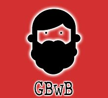 Beardy Boy Logo - Red by gbwb
