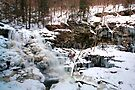 The Mighty Erie Waterfall is Mostly Frozen by Gene Walls