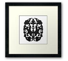 My Brain Hurts Framed Print