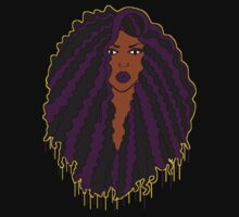 Black Girl, Purple Magic  One Piece - Long Sleeve