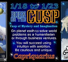 Born on the Cusp Capricorn Aquarius by Valxart
