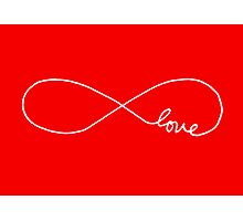 Infinite Love Photographic Print