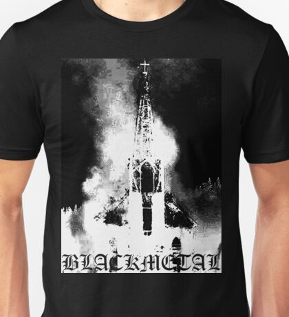 BLACK METAL Unisex T-Shirt