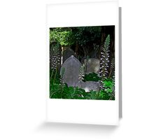 Mission Headstones Greeting Card