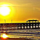 Stroll To The Pier In HDR by ©Dawne M. Dunton