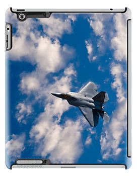 Raptor In The Clouds ipad Cover by Jim Haley