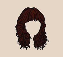 Zooey Deschanel Hair  Womens T-Shirt