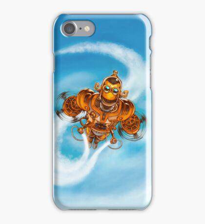 Happy Steampunk Robot iPhone Case/Skin