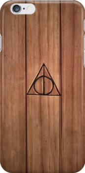 Deathly Hallows iPhone Case by Sarah  Mac
