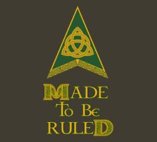 Made to be Ruled Womens Fitted T-Shirt