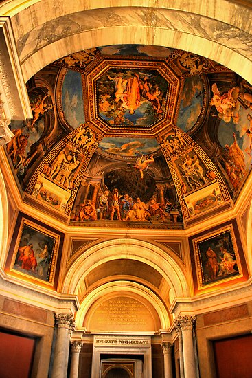 Vatican Ceiling by Barbara  Brown