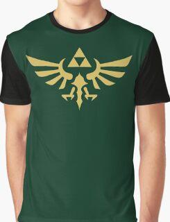 The Legend of Zelda Royal Crest (gold) Graphic T-Shirt