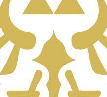 The Legend of Zelda Royal Crest (gold) Sticker