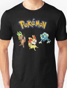 Pokemon Gen VI Starters T-Shirt