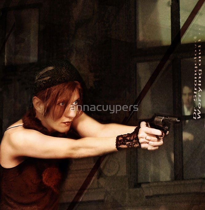 She says a girl needs a gun these days... by annacuypers