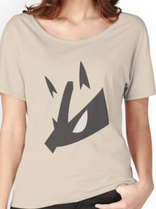 Lucario Pokemon Face Women's Relaxed Fit T-Shirt