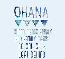 Ohana Means Family by tlcollins402
