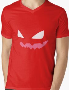 Haunter Pokemon Face Mens V-Neck T-Shirt