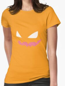 Haunter Pokemon Face Womens Fitted T-Shirt