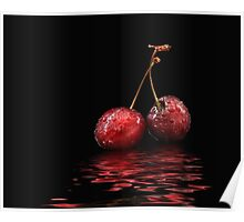 Cherry flood Poster