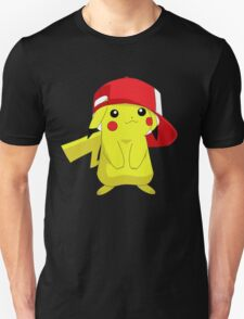 Pikachu Pokemon Ash's Hat T-Shirt