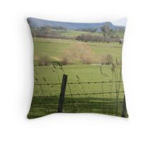 Mt Roland- Sheffield Tasmania Throw Pillow