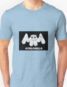 Marshmallow Effect With Text Unisex T-Shirt