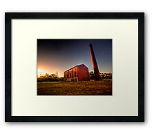 Old Mill at Sunset Framed Print
