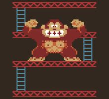 Classic 8 bit monkey  by squidgun