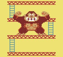 Classic 8 bit monkey  Kids Clothes