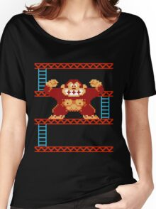 Classic 8 bit monkey  Women's Relaxed Fit T-Shirt
