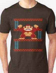 Classic 8 bit monkey  Unisex T-Shirt