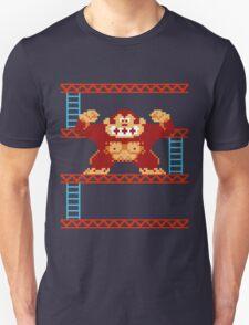 Classic 8 bit monkey  T-Shirt